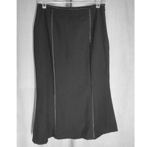 Doncaster Collection Black Mermaid Skirt Size 4